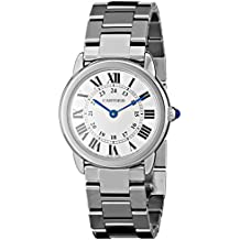 Cartier W6701004 - Reloj de pulsera mujer, acero inoxidable, color plateado
