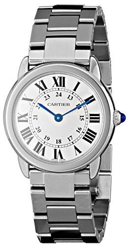 Cartier W6701004 - Orologio da polso donna, acciaio inox, colore: argento