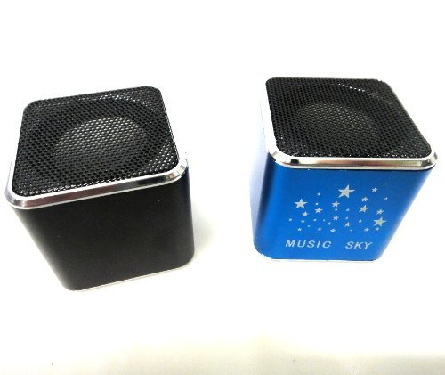 Sky Music New Fashion Portable Mini Pocket Music Sky USB Speaker for Micro SD TF Card MP3 MP4 Player IPod PC Laptop mixed color,