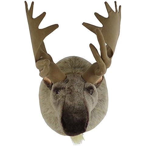 Trofeo de Peluche XXL de cabeza de alce naturgtreues Diseño traumhaft Peluche Sweety Toys