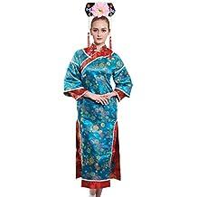 Bristol Novelty AF105 - Disfraz de mujer japonesa, multicolor