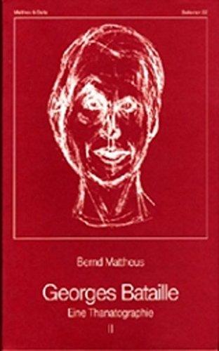 Georges Bataille: Eine Thanatographie II, Chronik 1940-1951