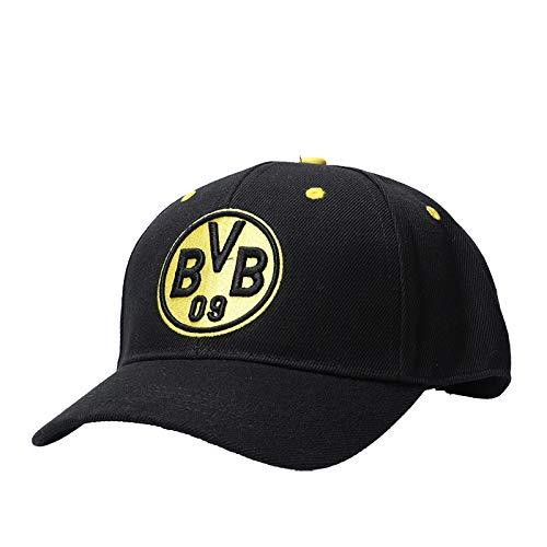 BVB  Kappe Logo, schwarz/gelb, One Size, 2466316