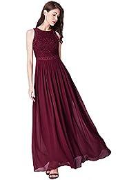 Ever-Pretty Robe de Soirée Femme Longue Robe de Bal Cérémonie Mariage 07391
