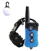 [Nouvelle Version 2018] TZLong chien collier de dressage avec télécommande série platine, gamme Rechargeable, étanche, 330-Yard