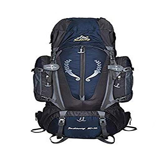 TnXan Large 85L Outdoor Backpack Hiking Backpack Straight Backpack Unisex travel Multi-Function Hiking Backpack Hiking Camping Backpack Hiking Large Capacity Backpack Camping Bag