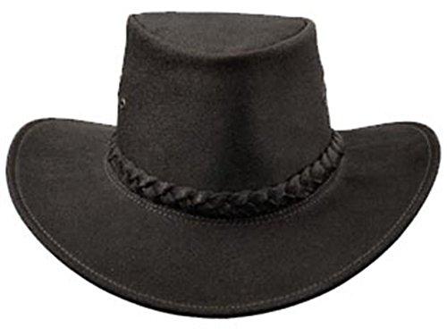 kakadu-traders-piel-sombrero-iron-cove-impermeable-de-piel-engrasada-unisex-color-negro-tamano-mediu