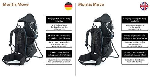 MONTIS MOVE Rückentrage Kindertrage