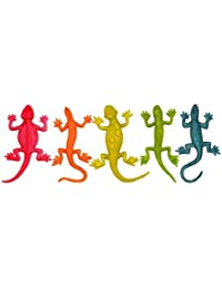Preisvergleich für 5 x Assorted colours of stretchy lizard each in a poly bag by Partyrama