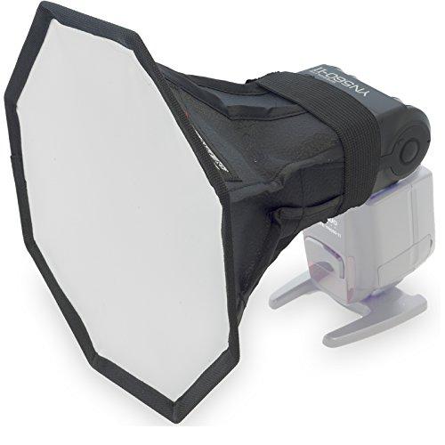 Weiwa Octagon Kamerablitzsoftbox Diffusor Bouncer Mini Softbox MF-20 Life of Photo