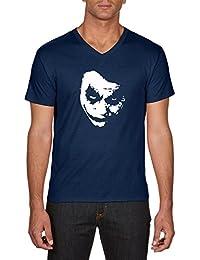 Touchlines Joker Heath Leadger, T-Shirt Homme