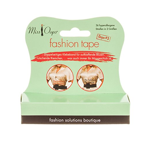 Miss Oops fashion tape stripes, 1er Pack (1 x 1 Stück) -
