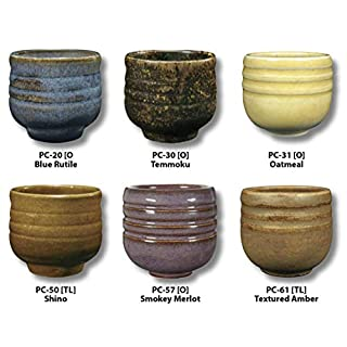 Amaco 39182X Potters Choice Glazes, 1 pint Capacity, Assorted Colors