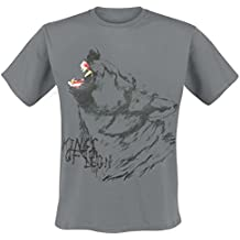 Kings Of Leon - Wolf Howl T-Shirt, Farbe: grau