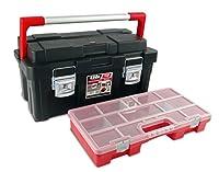 Tayg - Caja herramienta plastico aluminio 550-e 550x300x275 negro