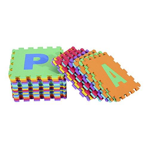 Alfombra-Puzle-241-Nios-3-Aos-26-Letras-Goma-Espuma-Estera-Juego-Puzzle