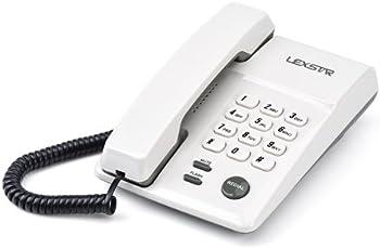 lexstar 200 Basic Land line Phone (Black)