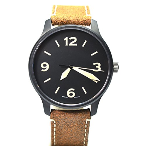 aristo ft black automatic 42mm watch dp24with sapphire glass–individually numbered–made in germany
