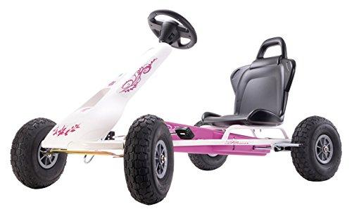 Ferbedo 8717Pink/Weiß Air Racer Go-Kart