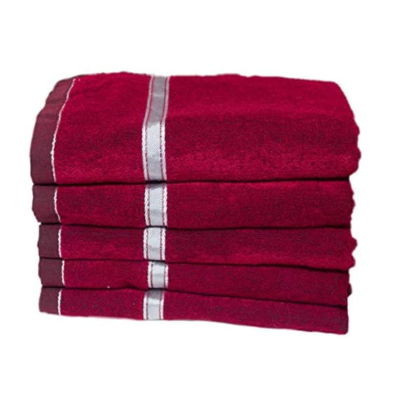 B.H Maroon Soft Towel for car seat,Chair,Sofa,and Table(Size 30x60inch) Polyster(Also usefull for Table,Sofa) Pack of 1