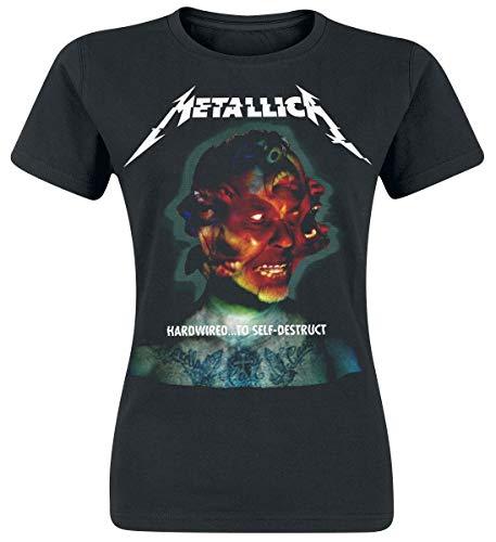 Metallica Hardwired...To Self-Destruct Camiseta Mujer Negro XXL