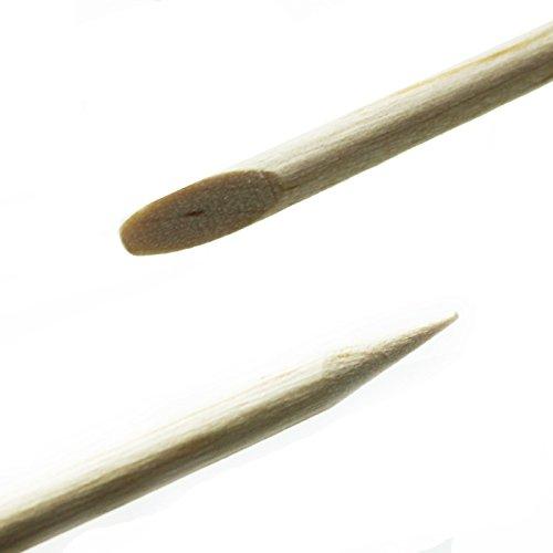 Nails & co - Bâtonnets de buis - Sachet de 10 - 14004