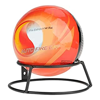 Mugast Auto Fire Off Fire Extinguisher Ball, Easy Throw Multipurpose Ball, Fire Extinguisher,Multi Purpose. All types of fires,Perfect for high risk areas,(0.5/1.3kg). (0.5kg)