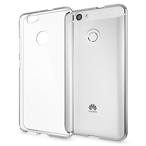 NALIA Handyhülle kompatibel mit Huawei Nova, Slim Silikon Motiv Case Cover Hülle Crystal Schutzhülle Dünn Durchsichtig, Etui Handy-Tasche Telefon-Schale Back-Cover Smart-Phone Bumper - Transparent