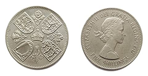 Coins for collectors - Circulated British 1960 Rare New York