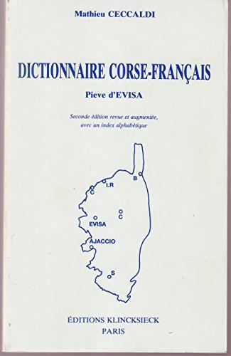 Dictionnaire corse-français par Mathieu Ceccaldi