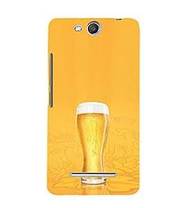 EPICCASE Beer Glass Mobile Back Case Cover For Micromax Canvas Juice 3 Q392 (Designer Case)