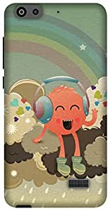 The Racoon Lean Radiohead hard plastic printed back case/cover for Huawei Honor 4C