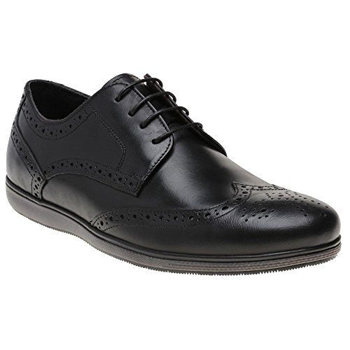 Red Tape Fulshaw Homme Chaussures Noir