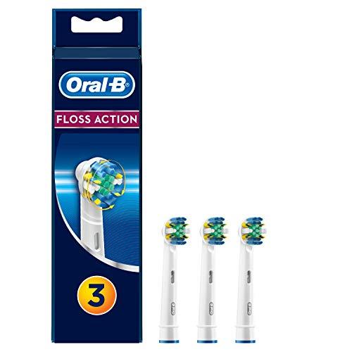 Oral-B Tiefenreinigung Aufsteckbürsten für elektrische Zahnbürsten, 3 Stück - Oral-b 7000 Braun