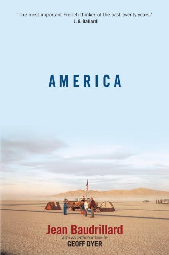 America por Jean Baudrillard