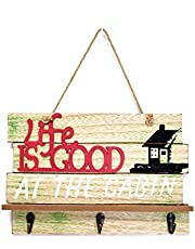 Scrafts Redwooden Life is Good multipurpose decorative wall