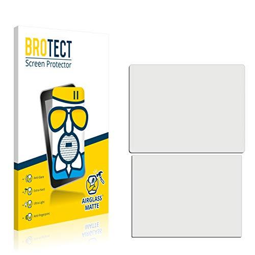 BROTECT AirGlass Matte Premium Glasfolie für Nintendo DSi XL (extrahart, ultradünn, matt und entspiegelnd, Anti-Fingerprint, flexibel)