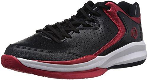 adidas D Rose Englewood III Herren-Basketball Turnschuhe/Schuhe-Black-49 (Curry 2014 Stephen Schuhe)