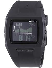 Nixon  A364-000 - Reloj de cuarzo unisex, con correa de plástico, color negro