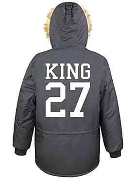 King 27 Parka Girls Nero Certified Freak