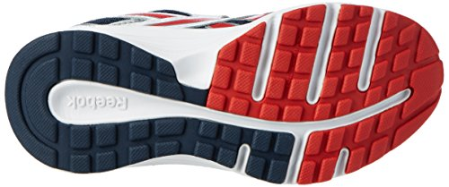 Reebok Almotio RS 2V, Baskets Basses Mixte Bébé Multicolore (White/Collegiate Navy/Motor Red/Silver)