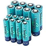 Tenergy High Capacity NiMH Rechargeable Battery Package: 8 AA 2600 MAh + 8 AAA 1000 MAh