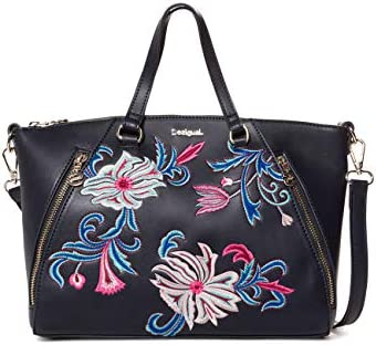 Desigual - Bag Orangina Piadena Women, Carteras de mano con asa Mujer, , 10x23.8x29.8 cm (B x H T)