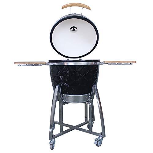 Tragbaren Holzkohle-grill Küche (ILUVBBQ Neuer Grill Grill Outdoor Küche Keramik Tragbare Holzkohle BBQ Grill)