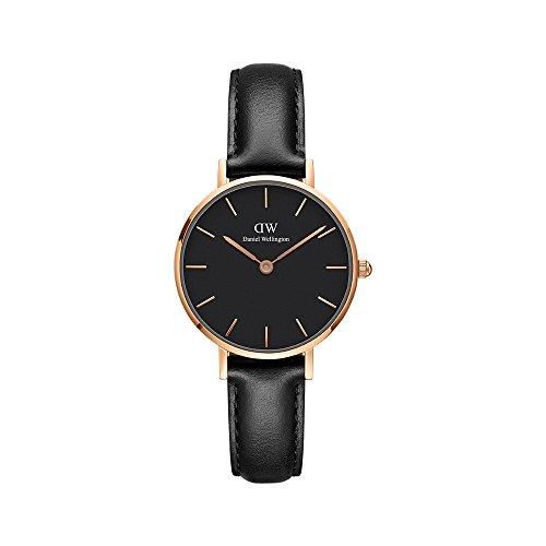 Daniel Wellington Women's Analogue Quartz Watch with Leather Strap DW00100224