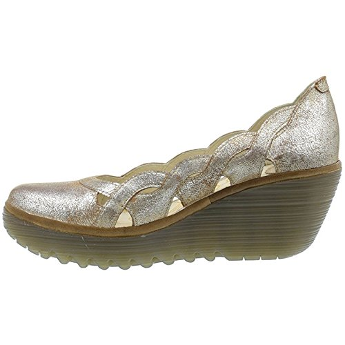 Fly London Womens yelk 835 Leather Shoes Luna Camel