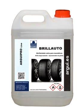 ARGUIPRO Line BRILLAUTO 2 litros. Abrillantador, renovador de neumáticos y plásticos de...