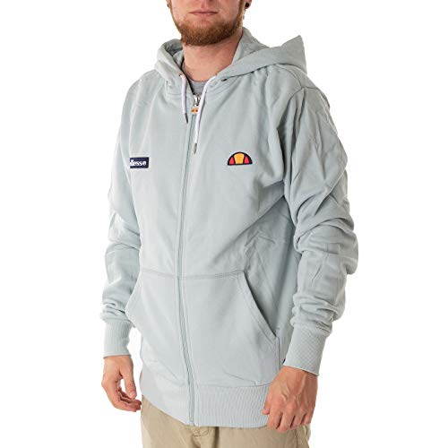 ellesse Antonio Hooded Zipper sterling blue - Zurück Zip Hooded Sweatshirt