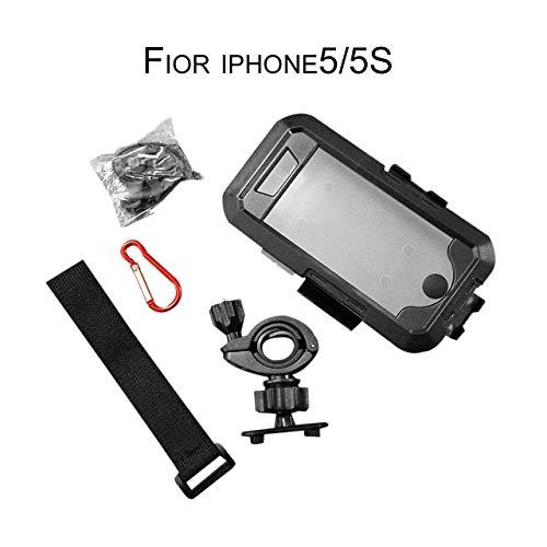 Outdoor Radfahren Telefon unterstützung wasserdichte Telefon case Fahrrad Griff montiert arm tragen Schwimmen tauchen Phone case für iPhone (schwarz) DEjasnyfall