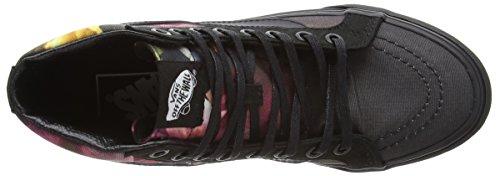 Vans U Sk8-Hi Slim Ombre Floral, Baskets Basses Mixte Adulte Noir (Ombre Floral - Black/Black)